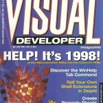 Visual Developer cover Jan 1998