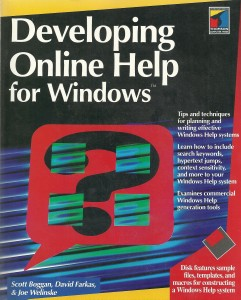 Developing Online Help for Windows