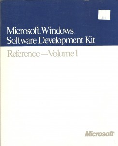 MS Windows SDK v1