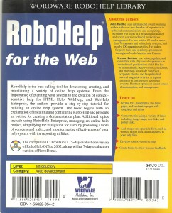 RoboHelp for the Web - back