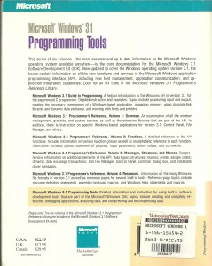 Windows 3_1 Programming Tools - back